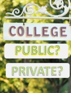 Public vs. Private Colleges